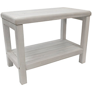 "CoastalVogue Eleganto 24"" Wide Shower Bench, , rollover"