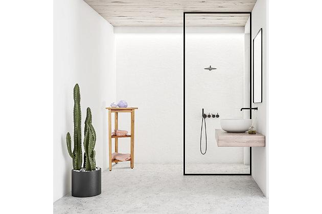 """EcoDecors FlexiCorner 32"""" Tall Shower Shelf, , large"""
