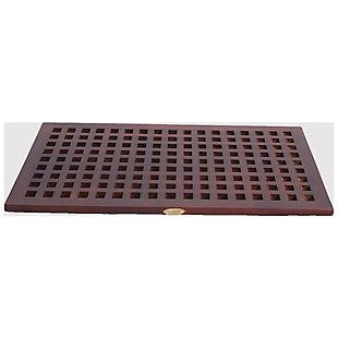 """DecoTeak Espalier 30"""" Wide Floor Mat, , large"""