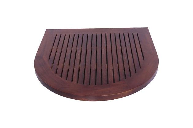 "DecoTeak Luna 24"" Wide Floor Mat, , large"
