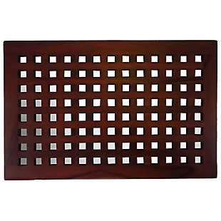 "DecoTeak Espalier 23"" Wide Floor Mat, , large"
