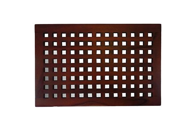 """DecoTeak Espalier 23"""" Wide Floor Mat, , large"""