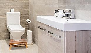 "EcoDecors SerenityPoo 8"" Tall Toilet Stool, , rollover"