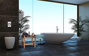 "EcoDecors Eleganto 20"" Wide Shower Bench, , rollover"