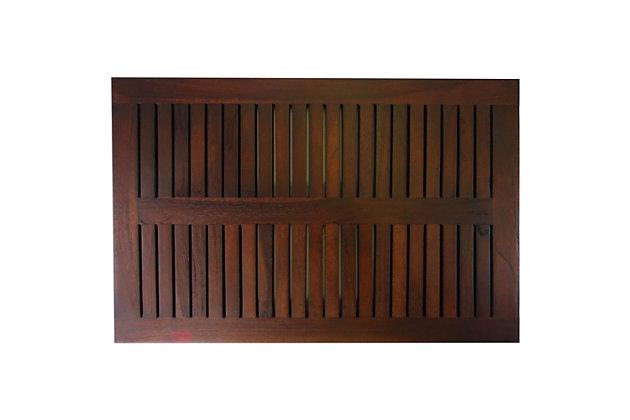 "DecoTeak Eleganto 23"" Wide Floor Mat, , large"