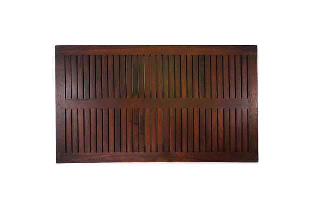 "DecoTeak Eleganto 31"" Wide Floor Mat, , large"