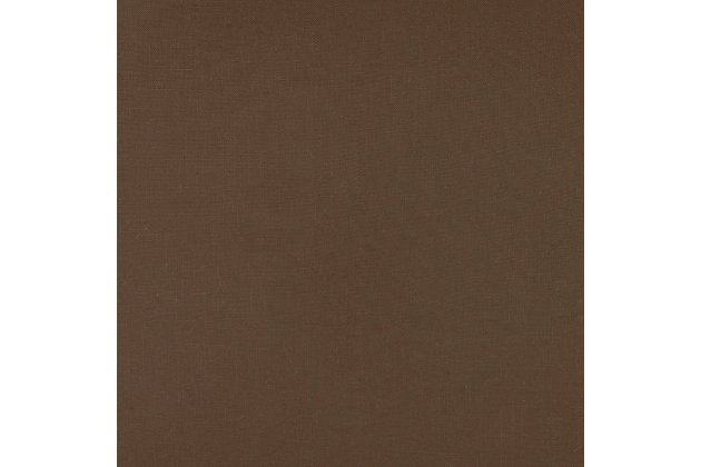 Home Accents Solid Throw Pillow, Brown, large