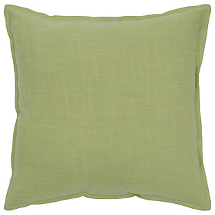 Home Accents Solid Throw Pillow, Lime Green, large