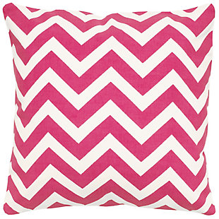 Home Accents Chevron Throw Pillow, Hot Pink, rollover