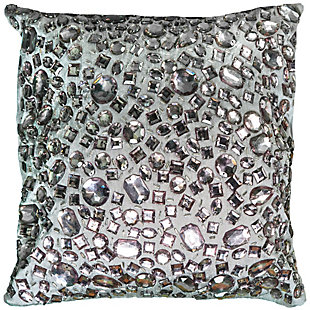 Home Accents Jeweled Throw Pillow, , large