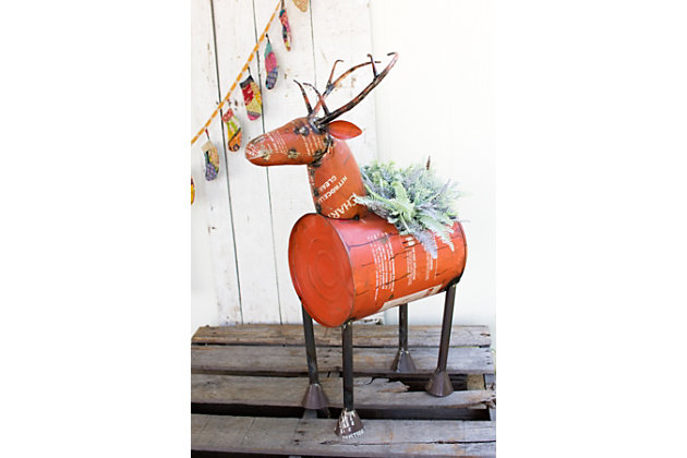Home Accents Reindeer by Ashley HomeStore, Red