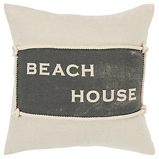 Home Accents Beach House Throw Pillow, , large