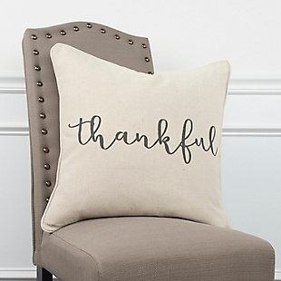 Home Accents Thankful Throw Pillow, , rollover