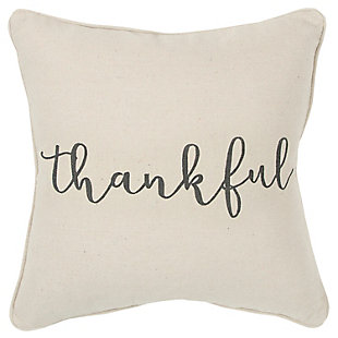 Home Accents Thankful Throw Pillow, , large