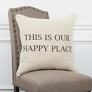 Home Accents Sentiment Throw Pillow, , rollover