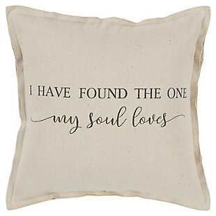 Home Accents Sentiment Throw Pillow, , large