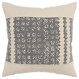 Donny Osmond Distressed Geometric  Throw Pillow, , large