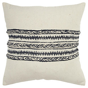 Donny Osmond Braided Stripe Throw Pillow, , large