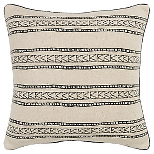 Donny Osmond Distressed Tribal Stripe Throw Pillow, , large