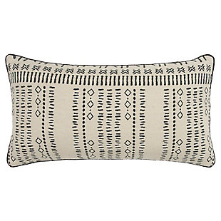 Donny Osmond Distressed Tribal Throw Pillow, , large