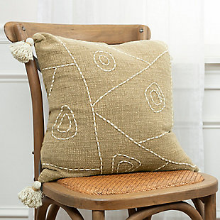 Home Accents Kantha Accents Throw Pillow, , rollover