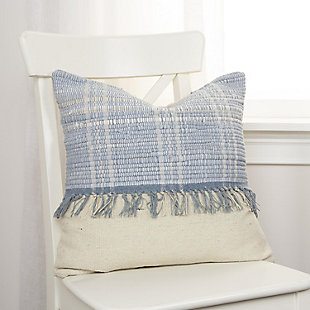 Home Accents Recycled Denim Throw Pillow, , rollover