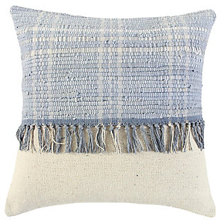 Home Accents Recycled Denim Throw Pillow, , large