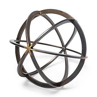 Metal Circular Decorative Orb, , large
