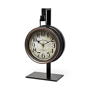 Metallic Hanging Table Clock, , large