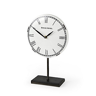White/Bronze Table Clock, , large