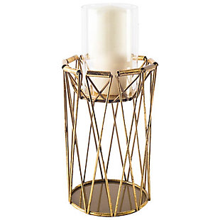 Tall Metal Table Candle Holder, , large