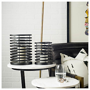 Short Metal Table Candle Holder, , rollover