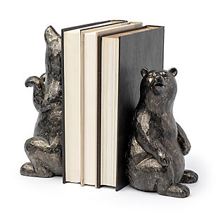 Sleuth Bear Bookends, , large
