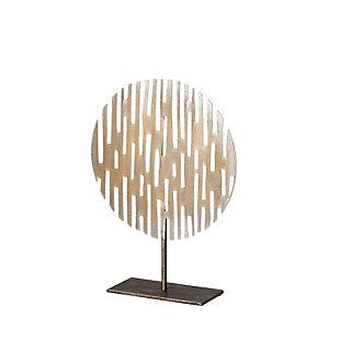 Circular Decorative Sculpture, , large