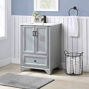 "Crosley Tara 24"" Single Bath Vanity, , rollover"