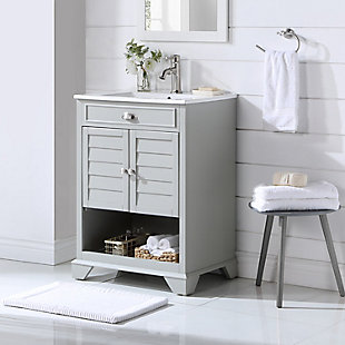 "Crosley Lydia 24"" Single Bath Vanity, , large"