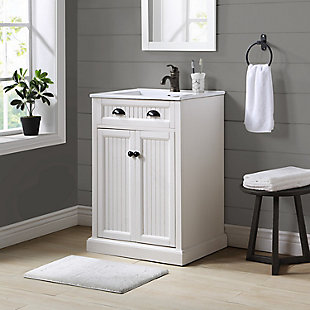 "Crosley Seaside 24"" Single Bath Vanity, , rollover"