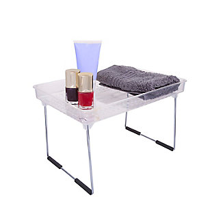 Kenney Storage Made Simple Collapsible Stacking Countertop Shelf, Clear, , large