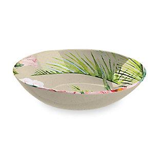 TarHong Palermo Tropical Bamboo Serve Bowl, , large