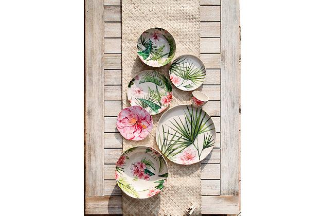 TarHong Palermo Tropical Bamboo Dip Bowl (Set of 6), , large