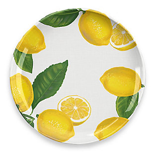TarHong Lemon Fresh Dinner Plate (Set of 6), , large
