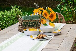 TarHong Lemon Fresh Salad Plate (Set of 6), , rollover