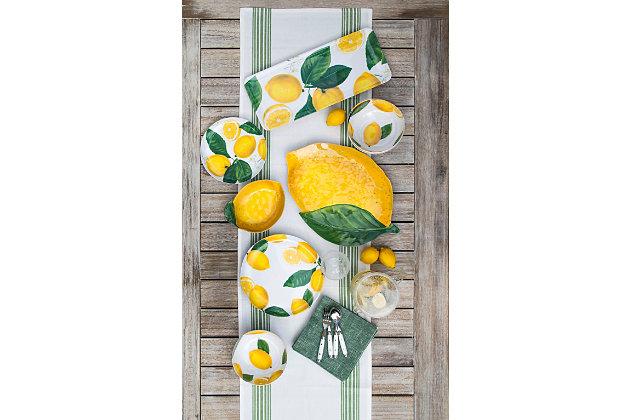 TarHong Lemon Fresh Serve Bowl, , large