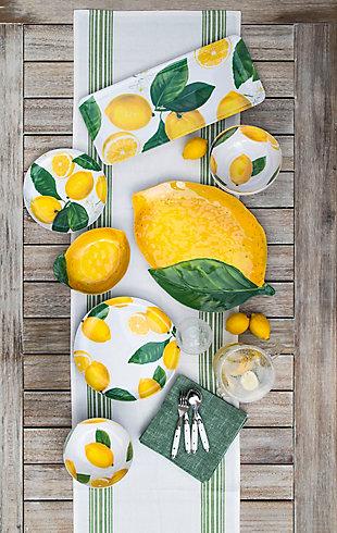 TarHong Lemon Fresh Figural Platter, , rollover