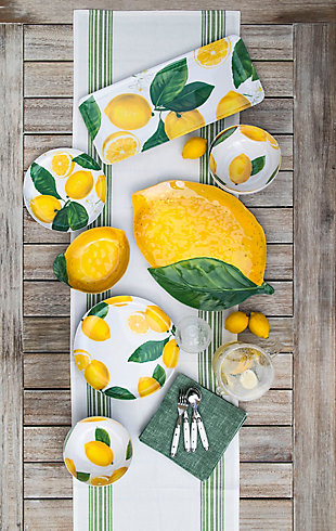 TarHong Lemon Fresh Figural Bowl (Set of 6), , rollover