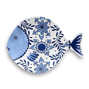 TarHong Cobalt Casita Figural Fish Tray, , large