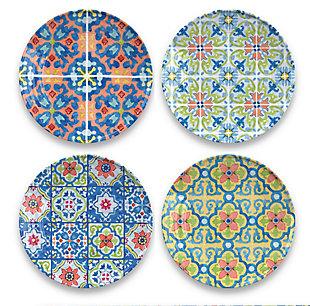 TarHong Talavera Tile Salad Plate, , large