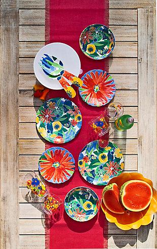 TarHong Midsummer Floral Figural Serve Bowl (Set of 1), , rollover