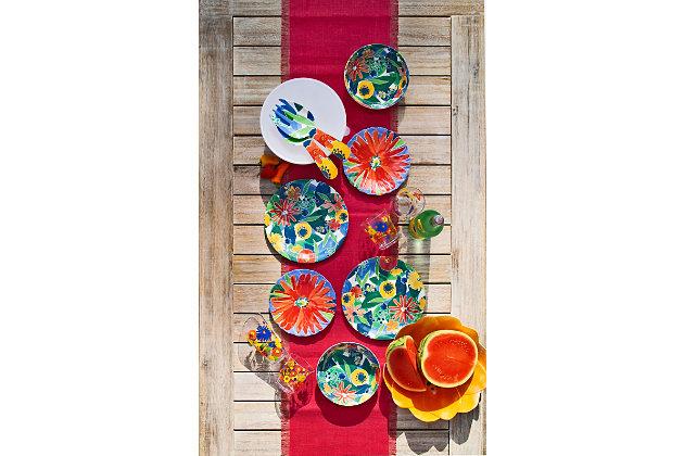 TarHong Midsummer Floral Figural Serve Bowl (Set of 1), , large