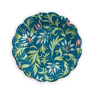 TarHong Chinoiserie Botanical Salad Plate (Set of 6), , large